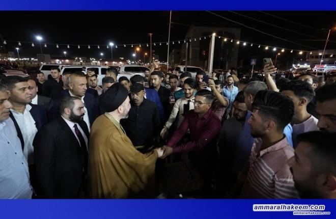 Sayyid Ammar Al-Hakeem: strolls in Mosul's streets, markets