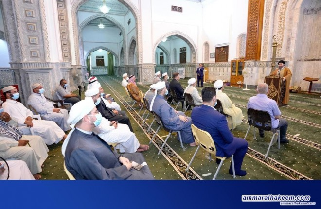 Sayyid Ammar Al-Hakeem calls to modernize religious discourse to coincide with religious challenges