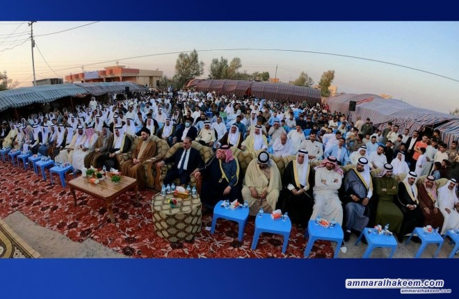 Al-Hejjaj District, Saladin: Sayyid Ammar Al-Hakeem: National identity and the Iraqi nation, two necessary concepts to build a capable state