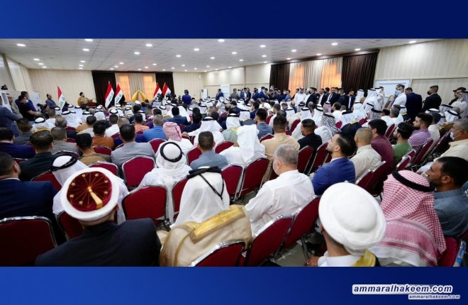 Samarra: Sayyid Ammar Al-Hakeem calls to benefit from past mistakes, not to repeat, emphasizes broad election participation