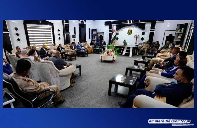 Sayyid Ammar Al-Hakeem: Bald District can fulfill Iraq's agricultural demands