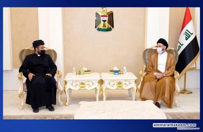 Sayyid Ammar Al-Hakeem receives congratulations from ancient Eastern Church for Eid al-Ghadir