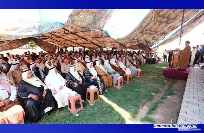 Sayyid Ammar Al-Hakeem renews support to reconstruct, turn Tal Afar into a province