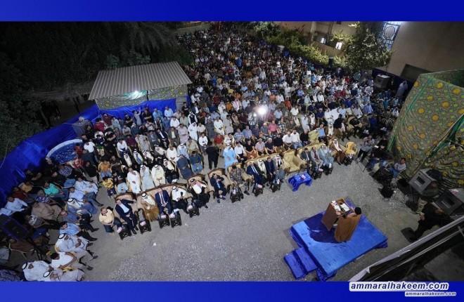 السيد عمار الحكيم يشدد على المشاركة الواعية والواسعة والفاعلة في الإنتخابات المقبلة