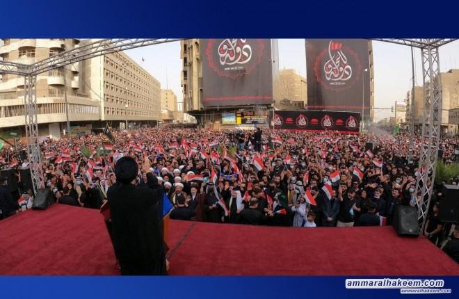 السيد عمار الحكيم يحذر من انهيار النظام السياسي اذا بقيت السياسة التوافقية وتعويم الفشل