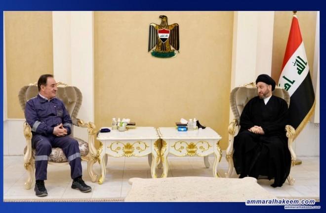 السيد عمار الحكيم يبحث مع وزير الكهرباء وكالة واقع الكهرباء ويدعو للارتقاء بالخدمات المقدمة للمواطن العراقي
