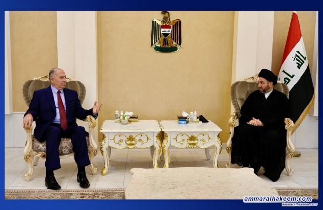 Sayyid Ammar Al-Hakeem receives Osama Al-Nujaifi, discusses political scene developments