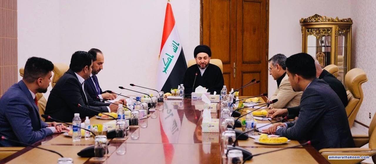 السيد عمار الحكيم يرأس اجتماعات مكاتب تحالف قوى ألدولة الوطنية في إطار المأسسة ومناقشة الوضع الانتخابي
