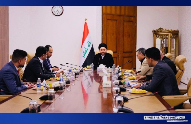 Sayyid Ammar Al-Hakeem chairs NSPA's offices' meetings within institutionalization framework & electoral situation discussion