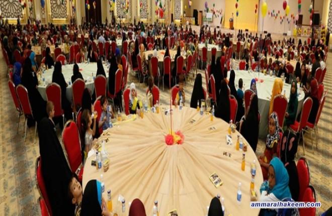 خلال رعايته مهرجان الطفولة .. السيد عمار الحكيم يدعو البرلمان والحكومة لتحويل مبادرة تنمية الطفولة العراقية الى مشروع قرار لترى النور بأسرع وقت