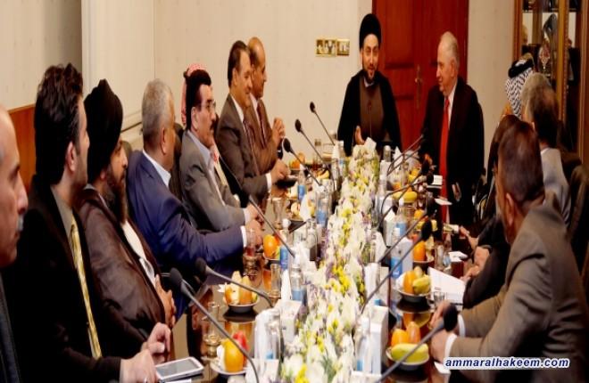 اجتماع قادة كتلة المواطن