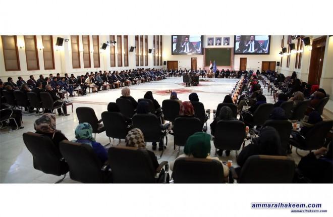 السيد عمار الحكيم : الانتصارات التي حققها العراق عسكريا وعلى مستوى السيادة جاءت بفضل تضحيات ابنائه