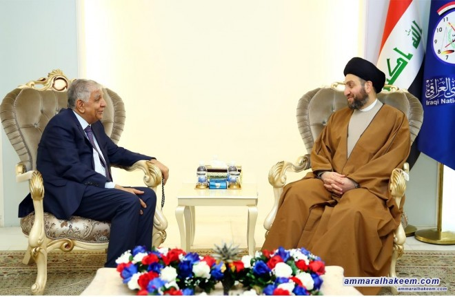 Sayyid Ammar al-Hakim commends Ministry of Oil efforts to improve production and oil export
