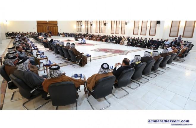 السيد عمار الحكيم : خروج العراق من البند السابع نصر جديد يضاف لانتصارات العراق
