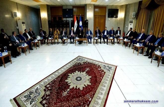 السيد عمار الحكيم : اسرائيل هي المستفيد الوحيد من تفتت الدول العربية والاسلامية ودخولها في نزاعات داخلية