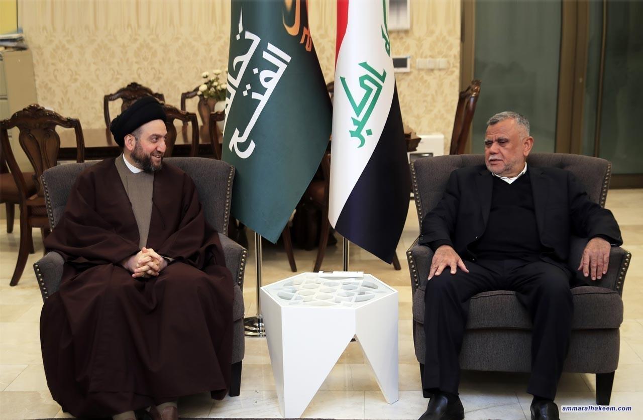 new appearance superior quality popular stores Sayyid Ammar al-Hakim meets Amiri, emphasizes unifying ...