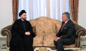 السيد عمار الحكيم يلتقي الملك عبد الله ملك الاردن ويبحث معه مستجدات الاوضاع السياسية في العراق والمنطقة والعلاقات الثنائية بين البلدين