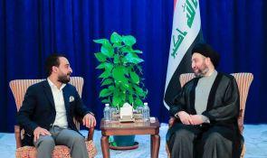 السيد عمار الحكيم ورئيس مجلس النواب يبحثان مطالب المتظاهرين والية تنفيذها