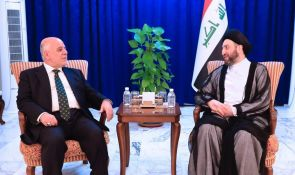 Sayyid Ammar al-Hakim receives Abadi to discuss opposition and maintain the achievements
