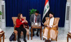 السيد عمار الحكيم يستقبل السفيرة الاسترالية ويبحث معها تطورات المشهد السياسي في العراق والمنطقة