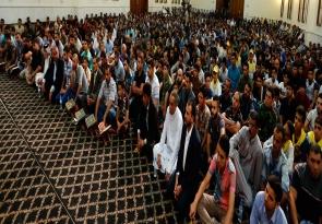 السيد عمار الحكيم : فتوى المرجعية الرشيدة وتلبيتها من ابناء الوطن ابطلت الحسابات المادية للاعداء